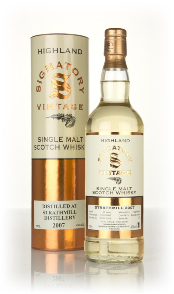 Strathmill 10 Year Old 2007 (casks 805448 & 805449) - Signatory Single Malt Whisky