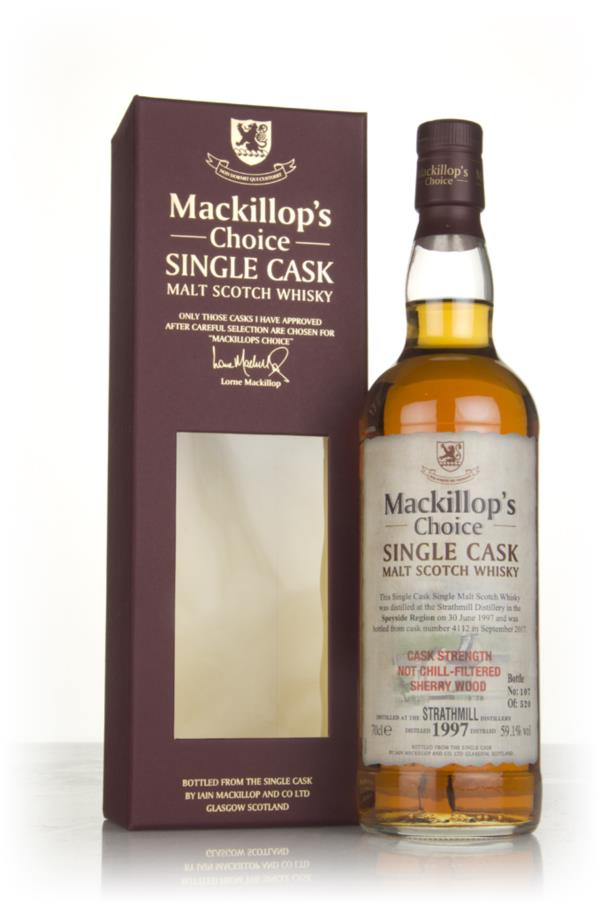 Strathmill 20 Year Old 1997 (cask 4112) - Mackillops Choice Single Malt Whisky