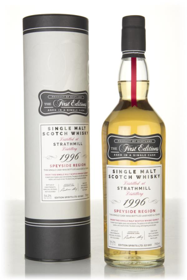 Strathmill 21 Year Old 1996 (cask 15187) - The First Editions (Hunter Single Malt Whisky