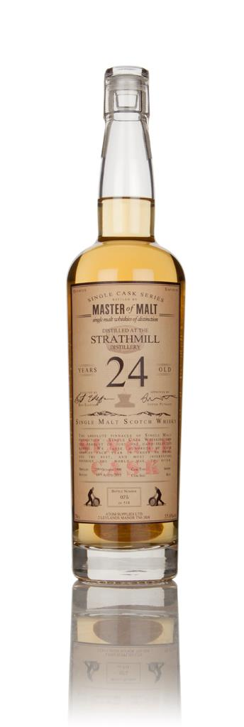 Strathmill 24 Year Old 1990 - Single Cask (Master of Malt) Single Malt Whisky