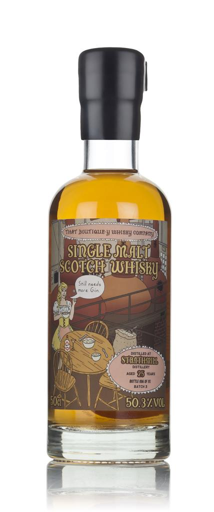 Strathmill 25 Year Old (That Boutique-y Whisky Company) 3cl Sample Single Malt Whisky
