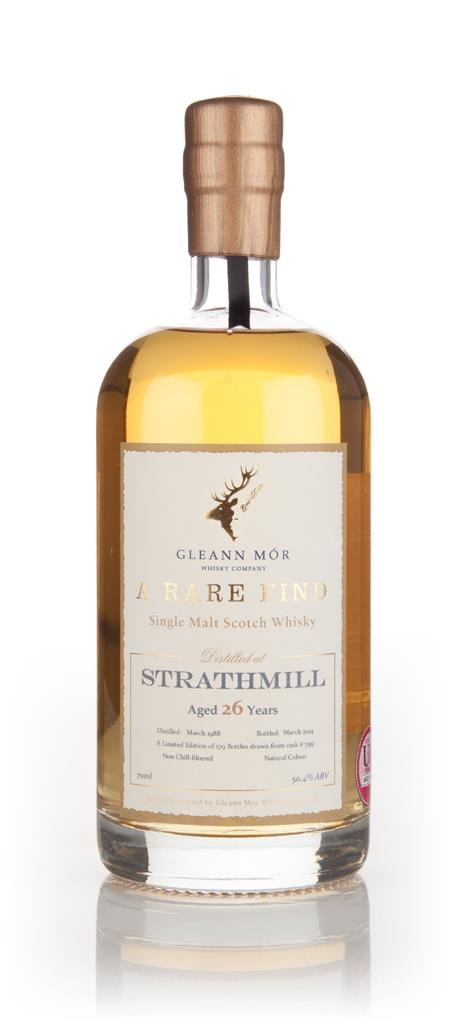 Strathmill 26 Year Old 1988 (cask 799) - A Rare Find (Gleann Mor) 3cl Single Malt Whisky 3cl Sample