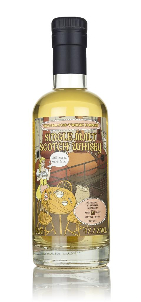 Strathmill 21 Year Old (That Boutique-y Whisky Company) 3cl Sample Single Malt Whisky