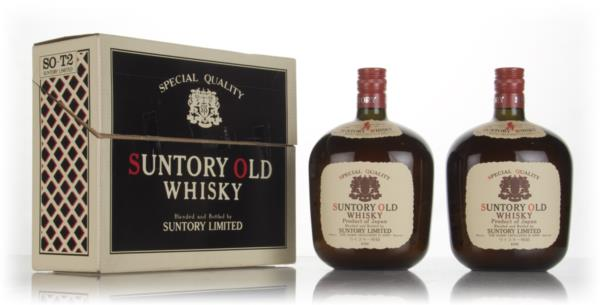 Suntory Old Whisky Gift Set - 1970s Blended Whisky