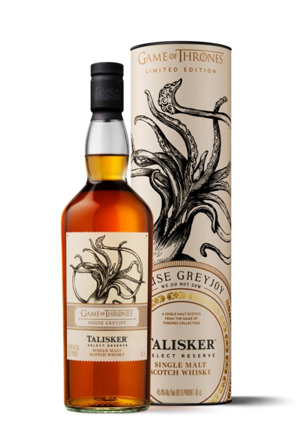 House Greyjoy & Talisker Select Reserve - Game of Thrones Single Malts Single Malt Whisky