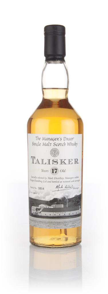 Talisker 17 Year Old Managers Dram Single Malt Whisky