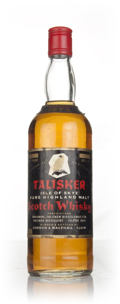 Talisker 1974 (Gordon & MacPhail) Single Malt Whisky