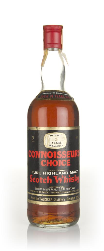 Talisker 24 Year Old 1953 - Connoisseurs Choice (Gordon & MacPhail) Single Malt Whisky