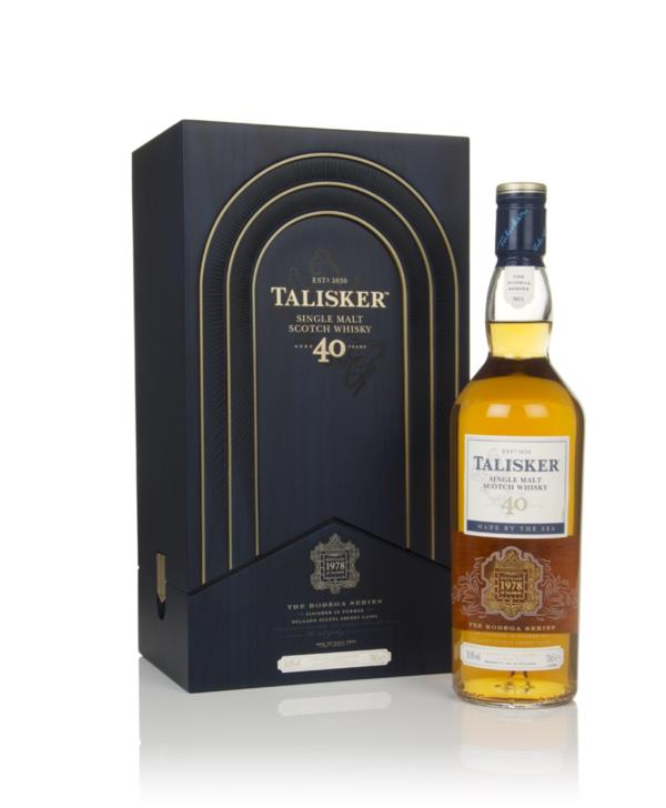 Talisker Bodega Series 40 Year Old 3cl Sample Single Malt Whisky