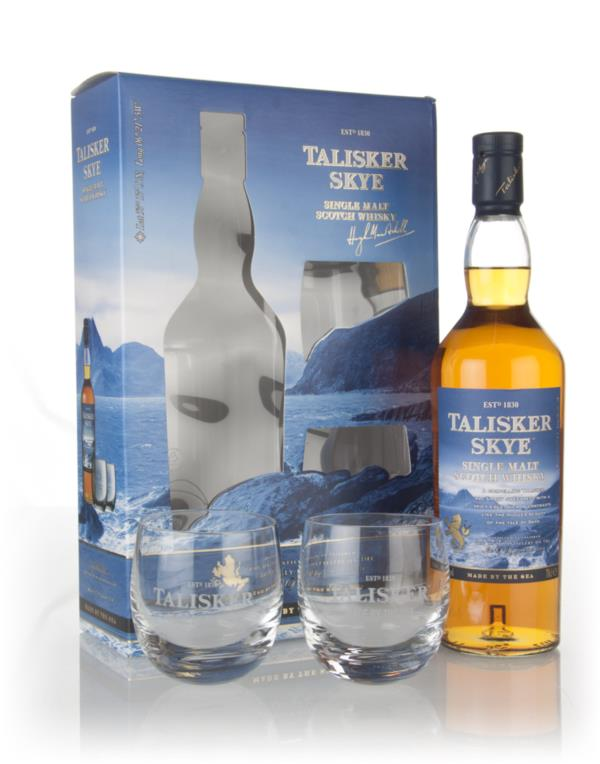 Talisker Skye Gift Pack with 2x Glasses Single Malt Whisky