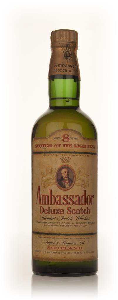 Ambassador 8 Year Old Blended Scotch Whisky - 1960s Blended Whisky