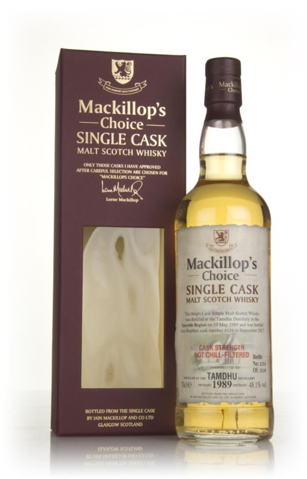 Tamdhu 28 Year Old 1989 (cask 4126) - Mackillop's Choice 3cl Sample Single Malt Whisky