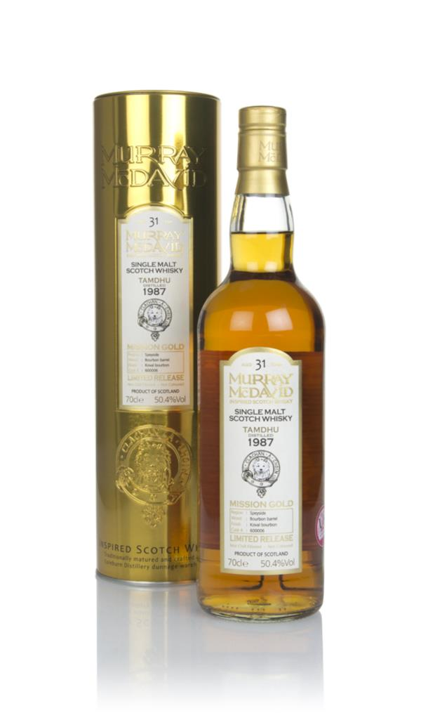 Tamdhu 31 Year Old 1987 (cask 600006) - Mission Gold (Murray McDavid) Single Malt Whisky