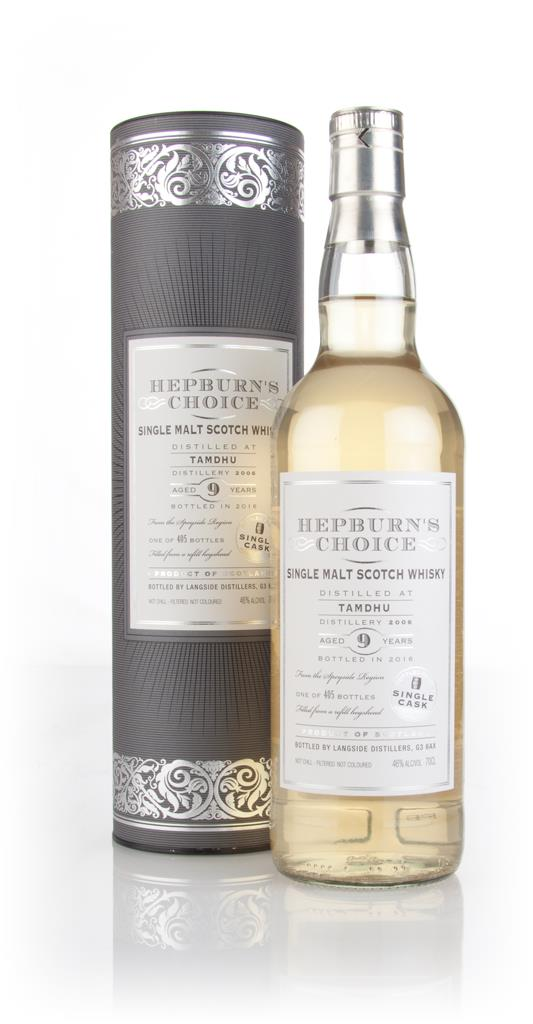 Tamdhu 9 Year Old 2006 - Hepburn's Choice (Langside) Single Malt Whisky