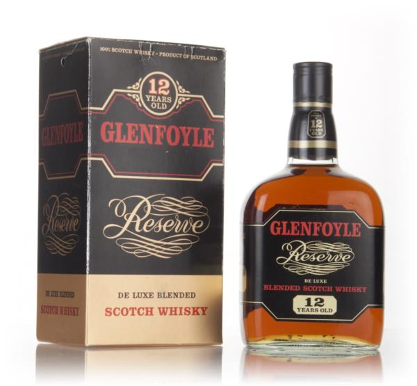 Glenfoyle Reserve 12 Year Old - 1970s Blended Whisky