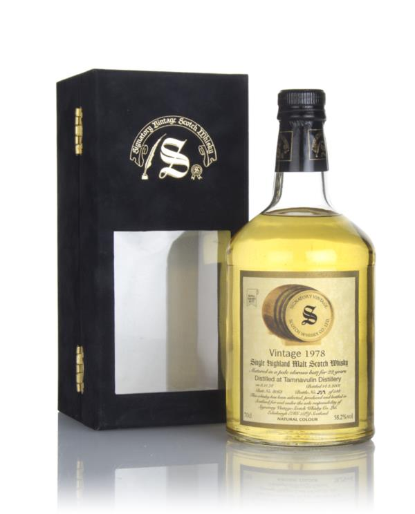 Tamnavulin 22 Year Old 1978 (cask 8068) - Signatory Single Malt Whisky