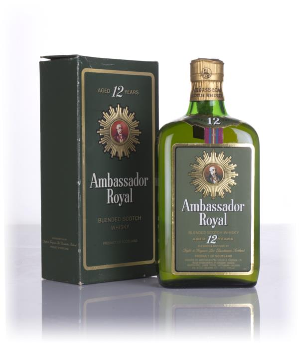 Ambassador 12 Year Old - 1970s Blended Whisky