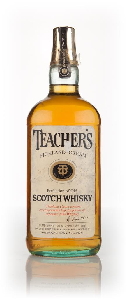 Teachers Highland Cream 100cl - 1970s Blended Whisky