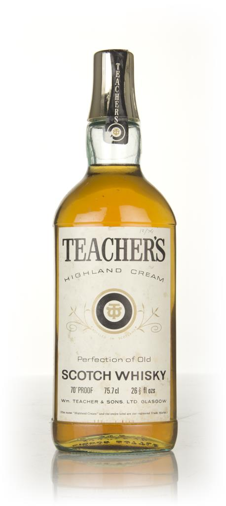 Teachers Highland Cream - 1970s Blended Whisky