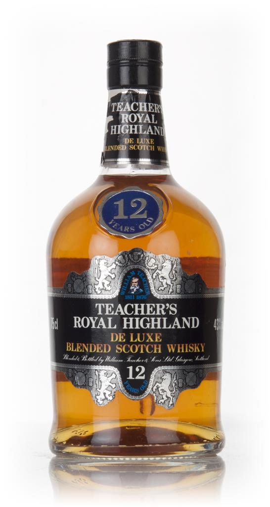 Teachers Royal Highland 12 Year Old - 1980 Blended Whisky