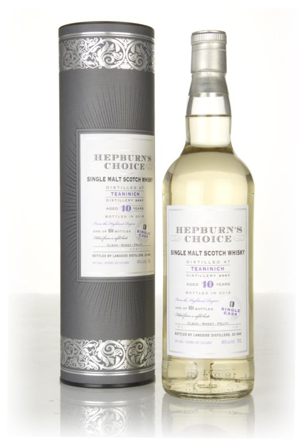 Teaninich 10 Year Old 2007 (cask 54492) - Hepburns Choice (Langside) Single Malt Whisky