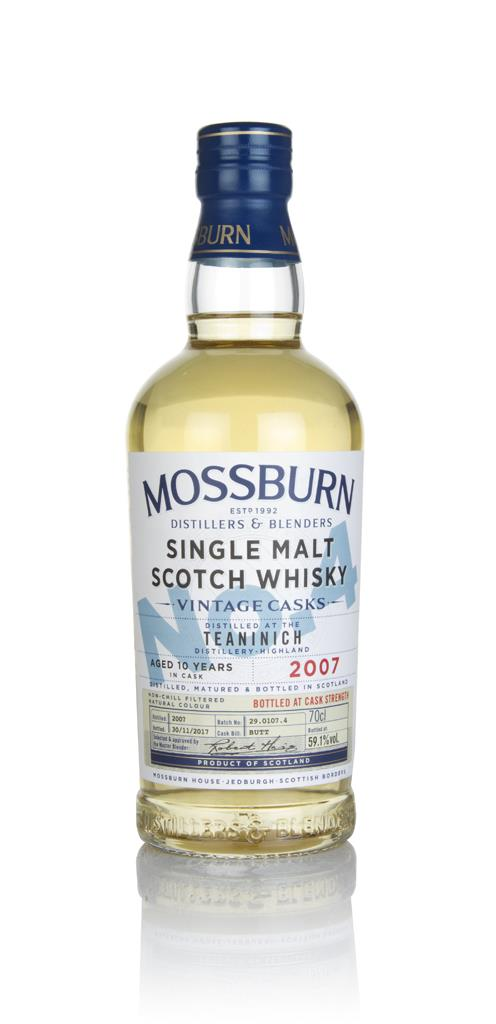 Teaninich 10 Year Old 2007 - Cask Strength (Mossburn) Single Malt Whisky