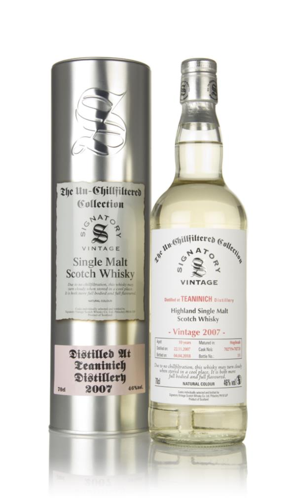 Teaninich 10 Year Old 2007 (casks 702719 & 702720) - Un-Chillfiltered Single Malt Whisky