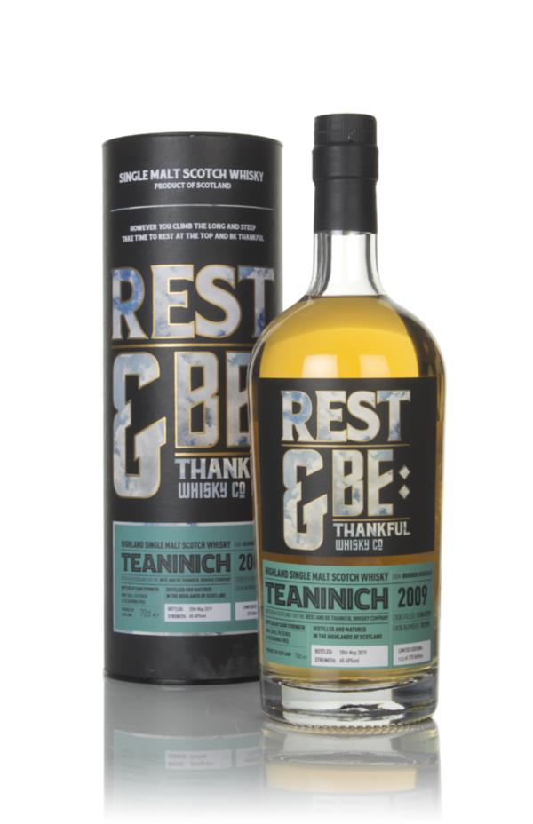 Teaninich 10 Year Old 2009 (cask 707390) - Rest & Be Thankful Single Malt Whisky