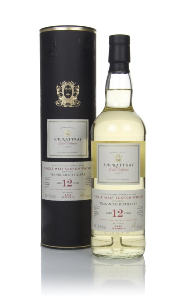 Teaninich 12 Year Old 2007 (cask 459) - Cask Collection (A.D Rattray) Single Malt Whisky