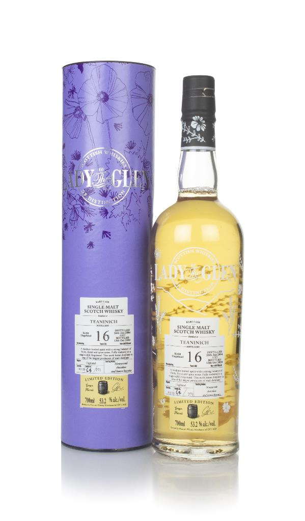 Teaninich 16 Year Old 2004 (cask 301139) - Lady of the Glen (Hannah Wh Single Malt Whisky