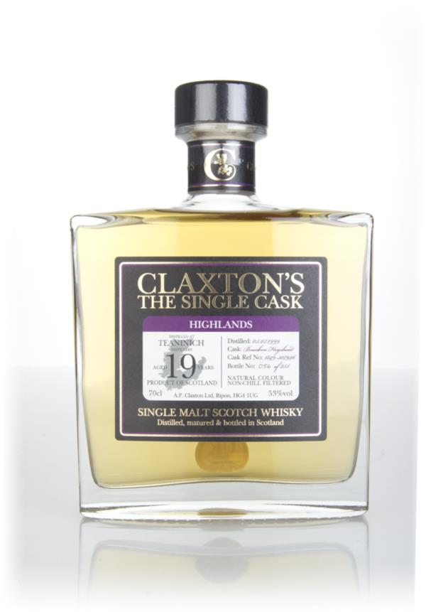 Teaninich 19 Year Old 1999 (cask #1849-307946) - Claxton's Single Malt Whisky