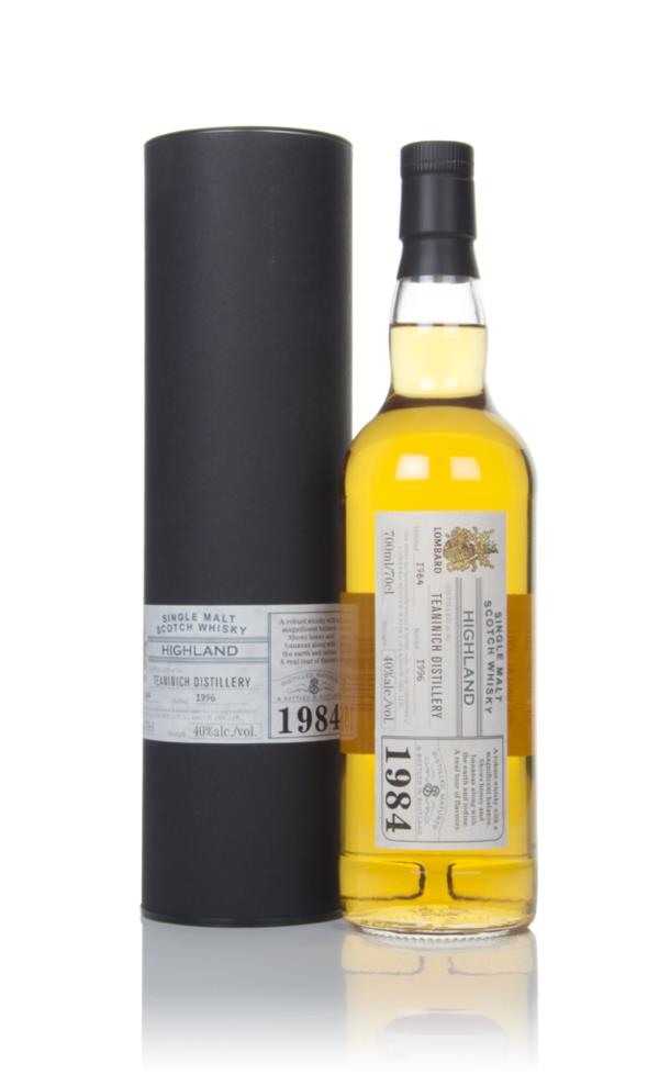 Teaninich 1984 (bottled 1996) - Lombard Single Malt Whisky