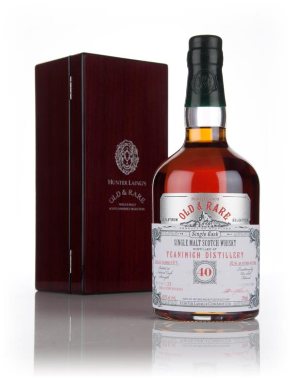 Teaninich 40 Year Old 1973 - Old & Rare Platinum (Hunter Laing) 3cl Sa Single Malt Whisky 3cl Sample