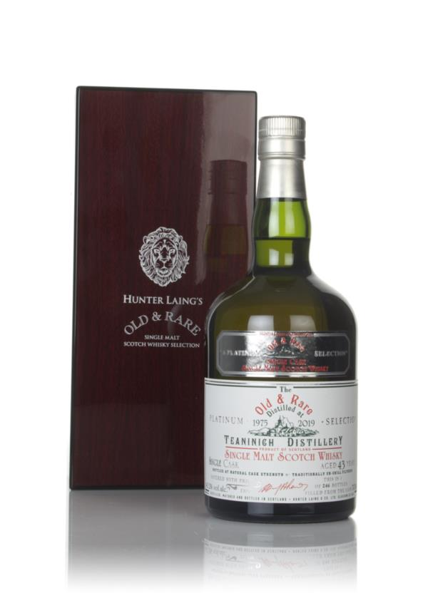 Teaninich 43 Year Old 1975 - Old & Rare Platinum (Hunter Laing) Single Malt Whisky