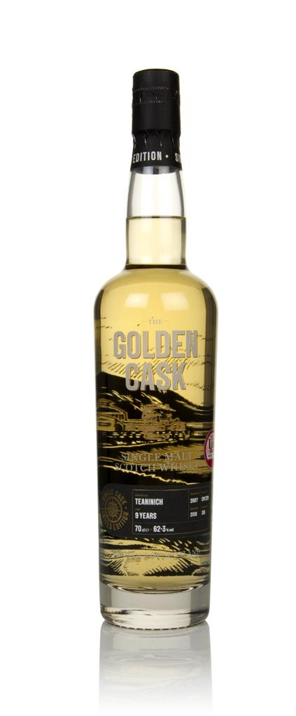 Teaninich 9 Year Old 2007 (cask CM229) - The Golden Cask (House of Mac Single Malt Whisky