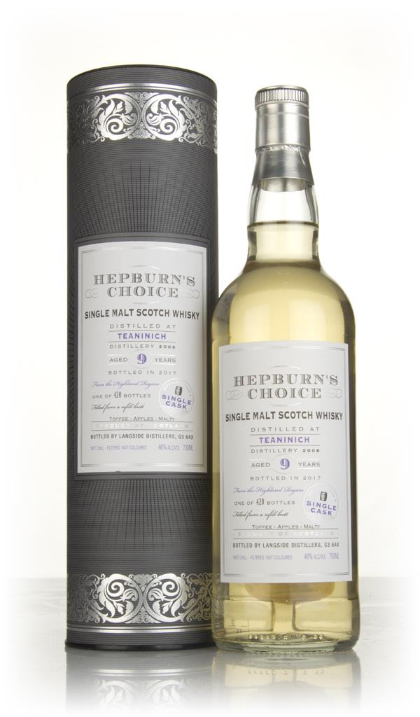 Teaninich 9 Year Old 2008 (bottled 2017) - Hepburns Choice (Langside) Single Malt Whisky