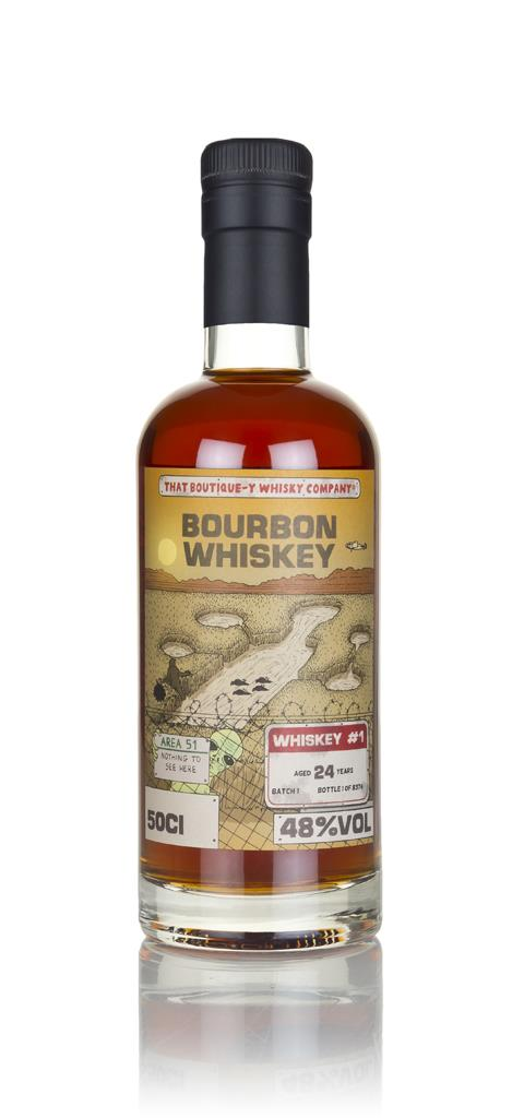 Bourbon Whiskey #1 24 Year Old (That Boutique-y Whisky Company) 3cl Sa Bourbon Whisky 3cl Sample