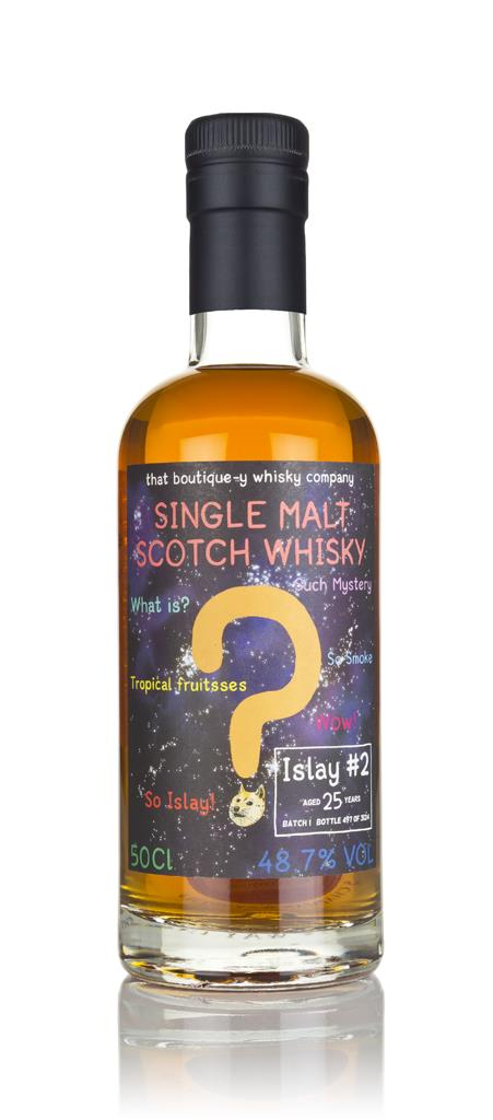 Islay #2 25 Year Old - Batch 1 (That Boutique-y Whisky Company) 3cl Sa Single Malt Whisky 3cl Sample