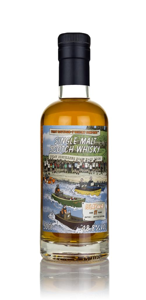 Islay #4 11 Year Old (That Boutique-y Whisky Company) Single Malt Whisky