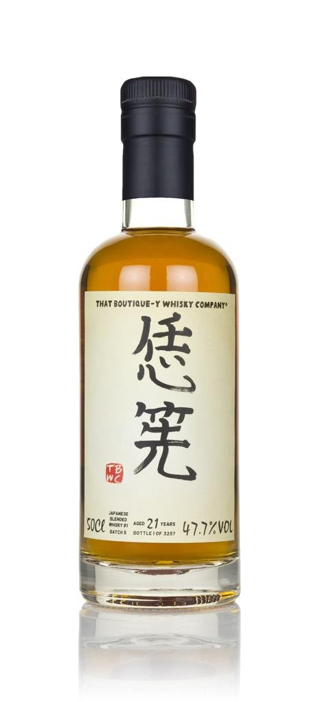 Japanese Blended Whisky #1 21 Year Old (That Boutique-y Whisky Company Blended Whisky