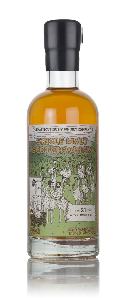Secret Distillery #2 21 Year Old (That Boutique-y Whisky Company) 3cl Single Malt Whisky 3cl Sample