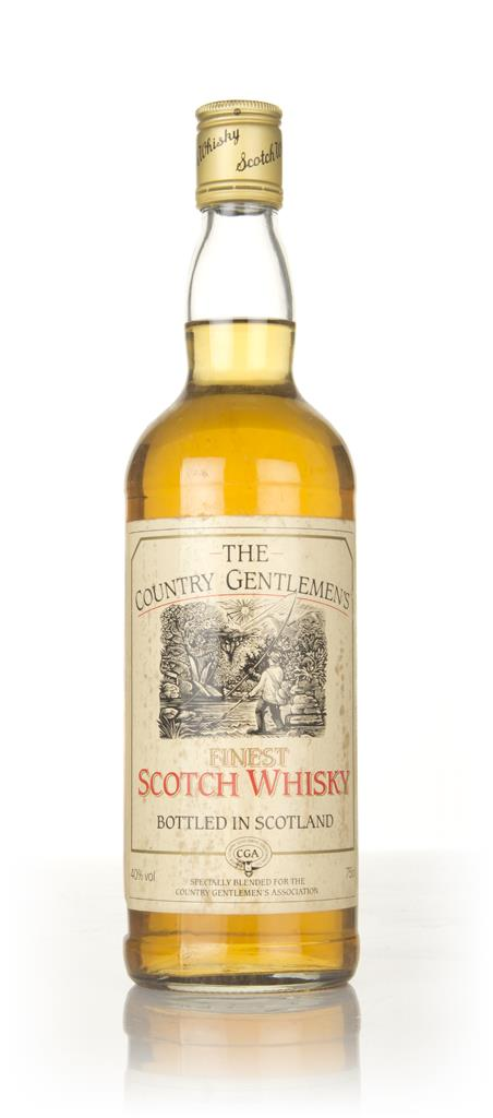 The Country Gentlemens Finest - 1970s Blended Whisky