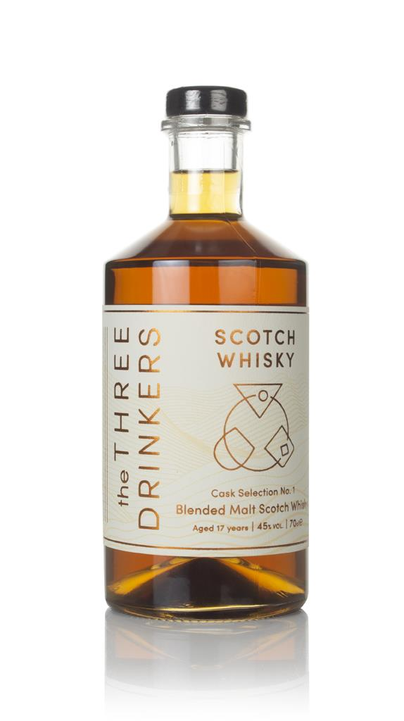 The Three Drinkers Scotch Whisky 17 Year Old - Cask Selection No. 1 Blended Malt Whisky