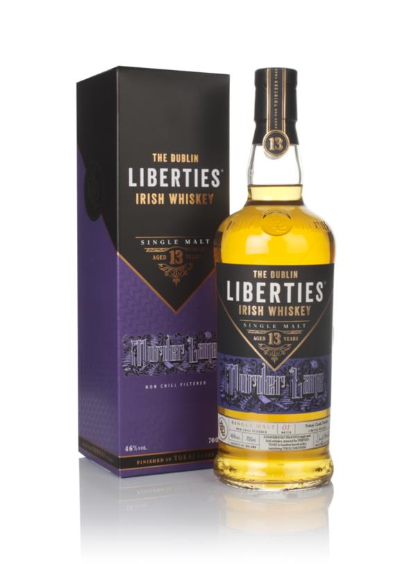 The Dublin Liberties 13 Year Old Murder Lane Single Malt Whiskey
