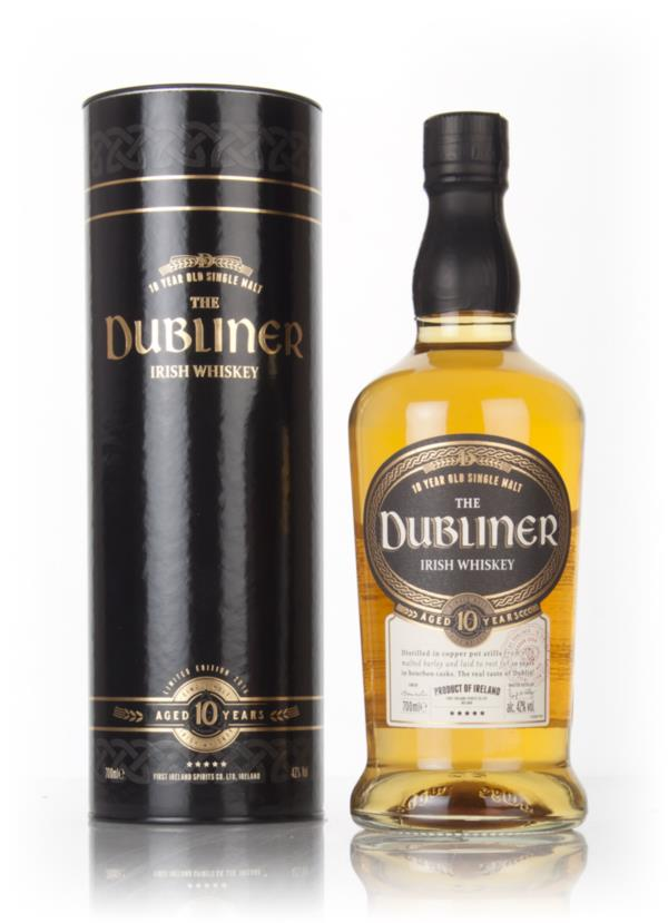 The Dubliner 10 Year Old Single Malt Whiskey