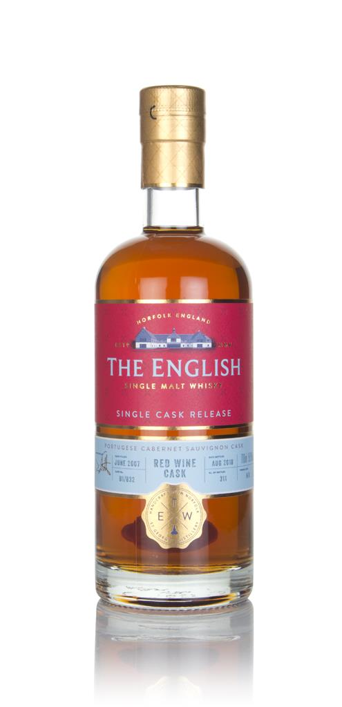 The English - Cabernet Sauvignon Cask (Single Cask Release) Single Malt Whisky