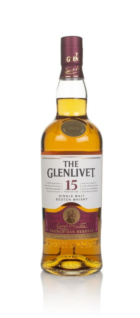 The Glenlivet 15 Year Old French Oak Reserve Single Malt Whisky