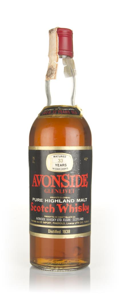 Avonside-Glenlivet 33 Year Old 1938 Blended Whisky