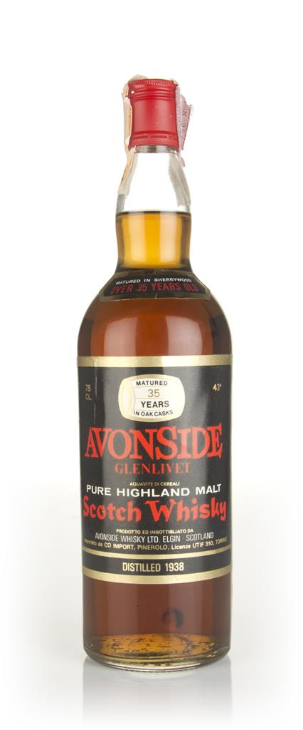 Avonside-Glenlivet 35 Year Old 1938 Blended Whisky