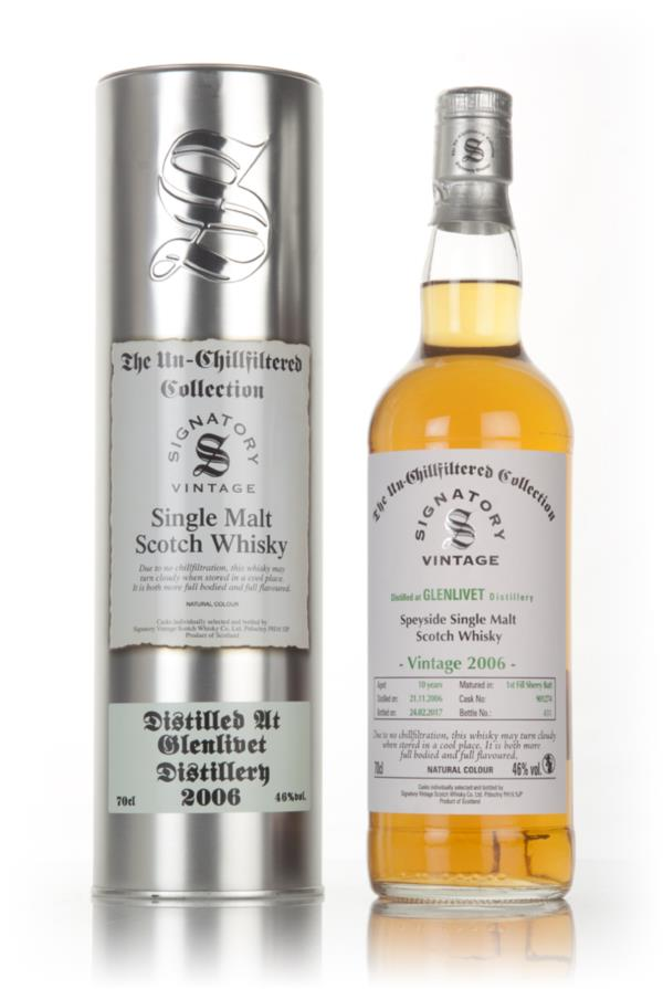 Glenlivet 10 Year Old 2006 (cask 901274) - Un-Chillfiltered Collection Single Malt Whisky